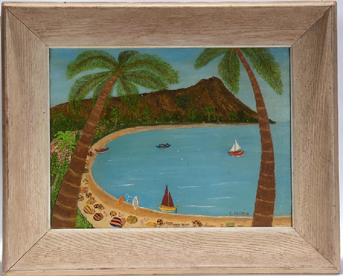 C. Hanson. Diamond Head Hawaii.