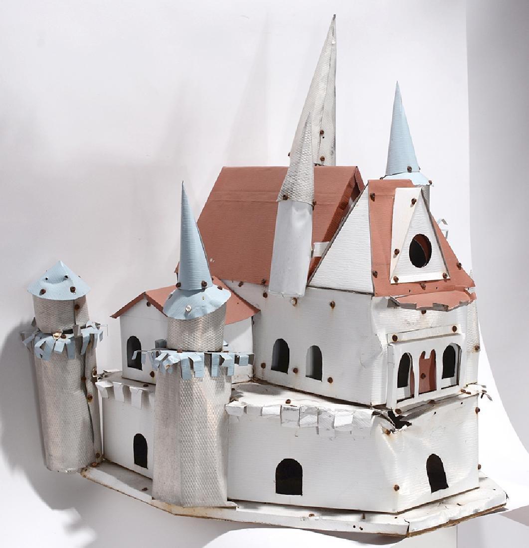 Samuel Mirelez. Fairy Tale Birdhouse Castle.