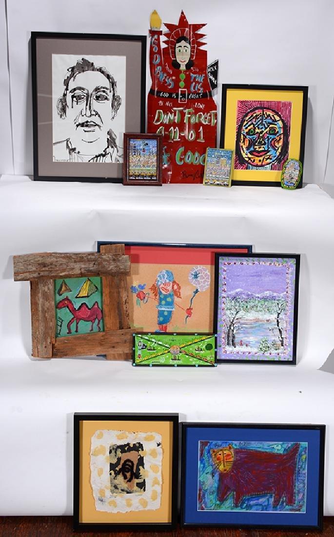 Contemporary Folk Artists. 11 Works.