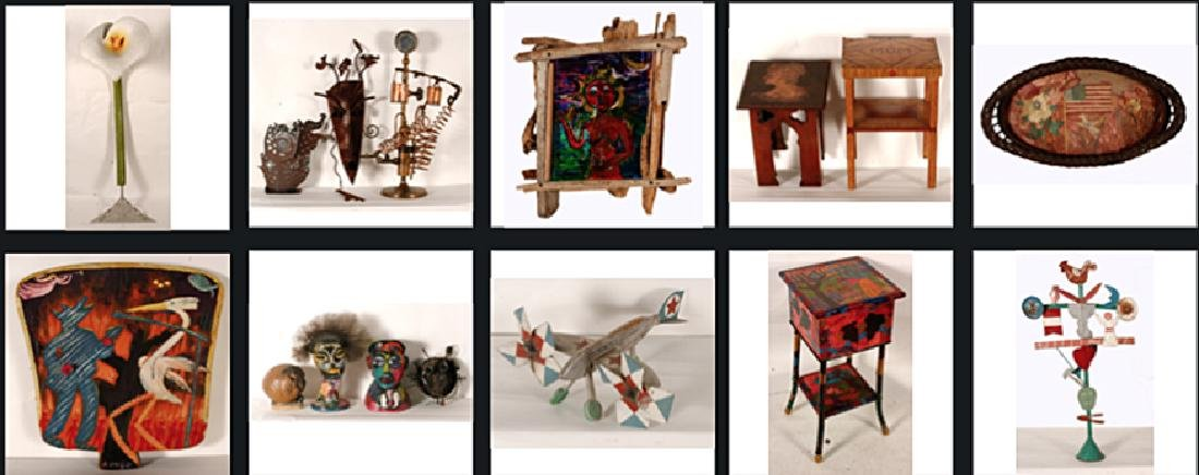 Metal, Sculptures & Mixed Media Artworks.