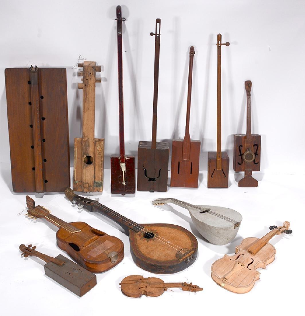 13 Strange String Musical Instruments.