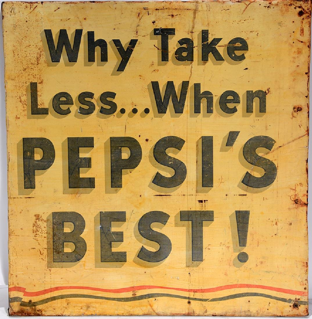 Pepsi's Best Advertising Sign.