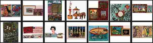 Mixed Artists Fun Art Collection