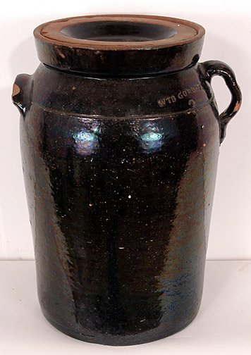 18: W.T.B. Gordy 3-Gallon Churn.