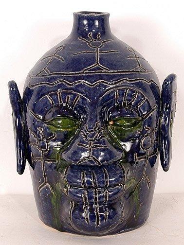 60: Edwin Meaders Voodoo Jug #6.