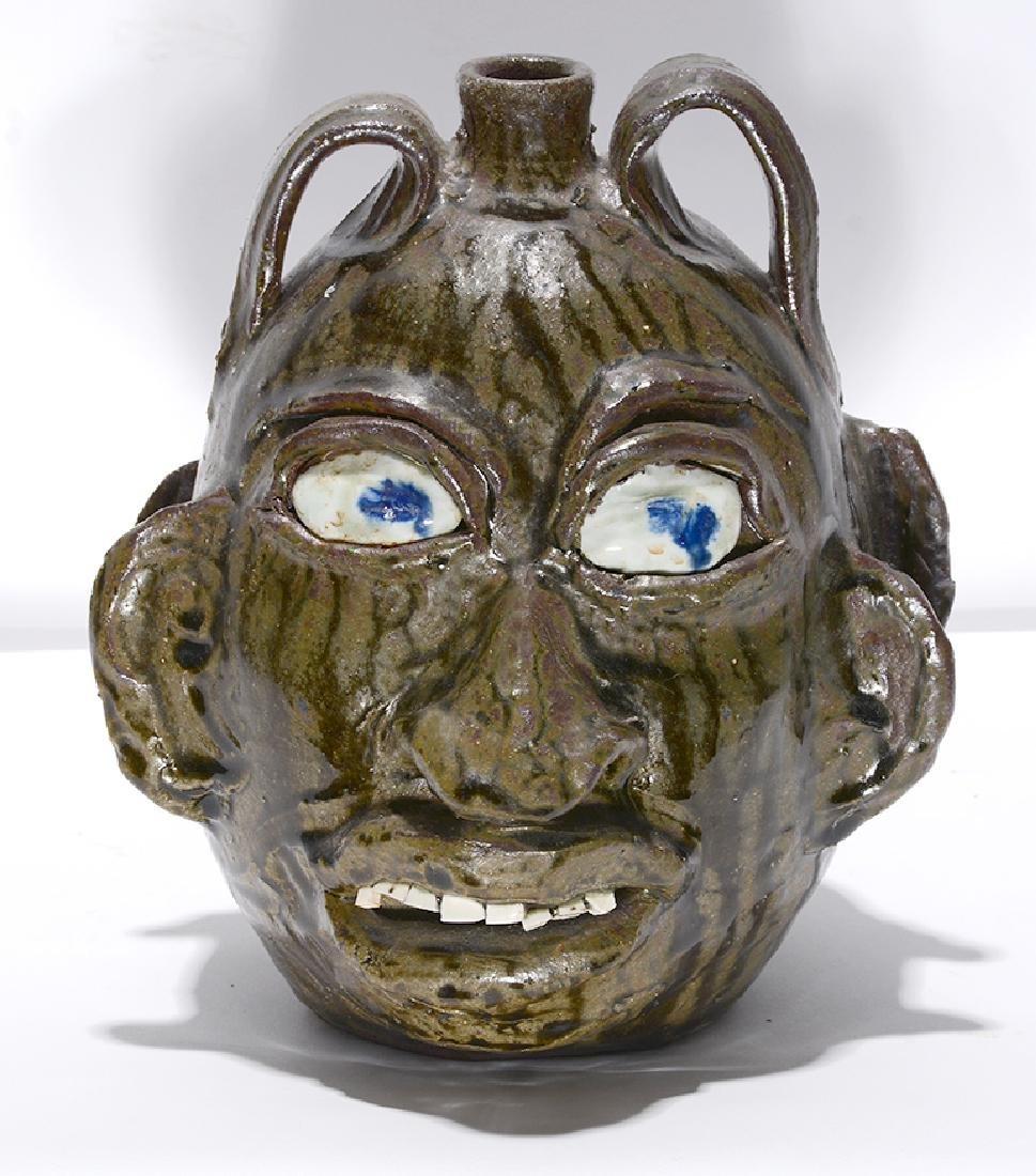 Chester Hewell. Double Face Politician Jug.