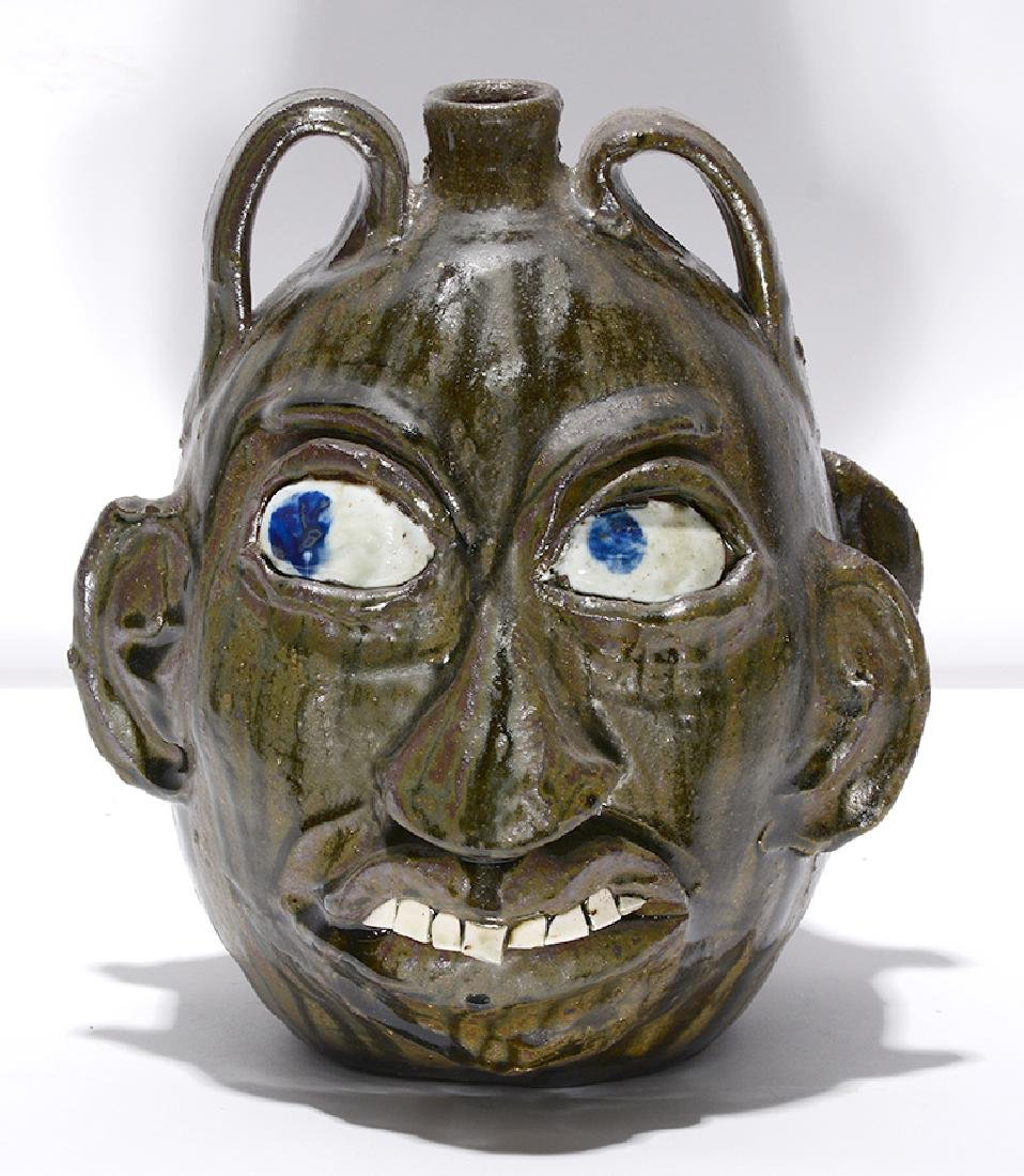 Chester Hewell. Double Face Politician Jug. - 2