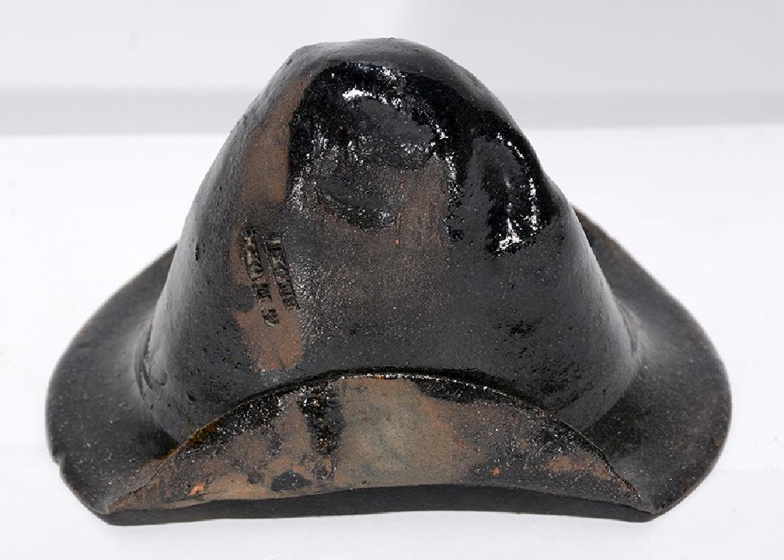 George Ohr. Pottery Hat. - 3