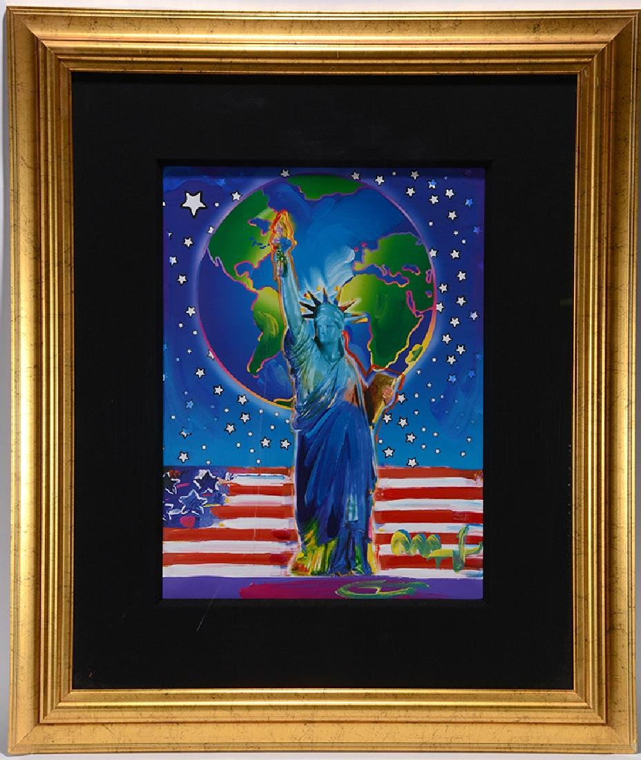 Peter Max. Peace On Earth.