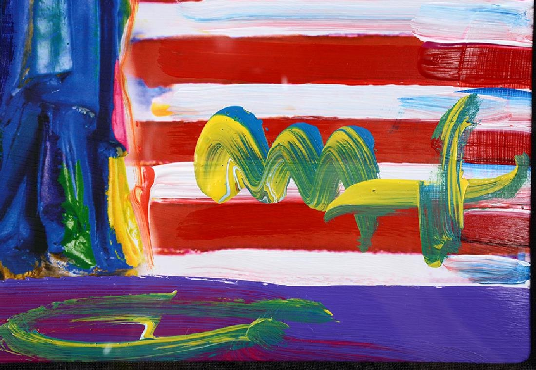 Peter Max. Peace On Earth. - 2