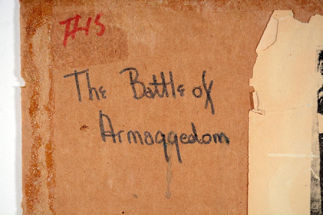 Sister Gertrude Morgan. Battle of Armageddon. - 9