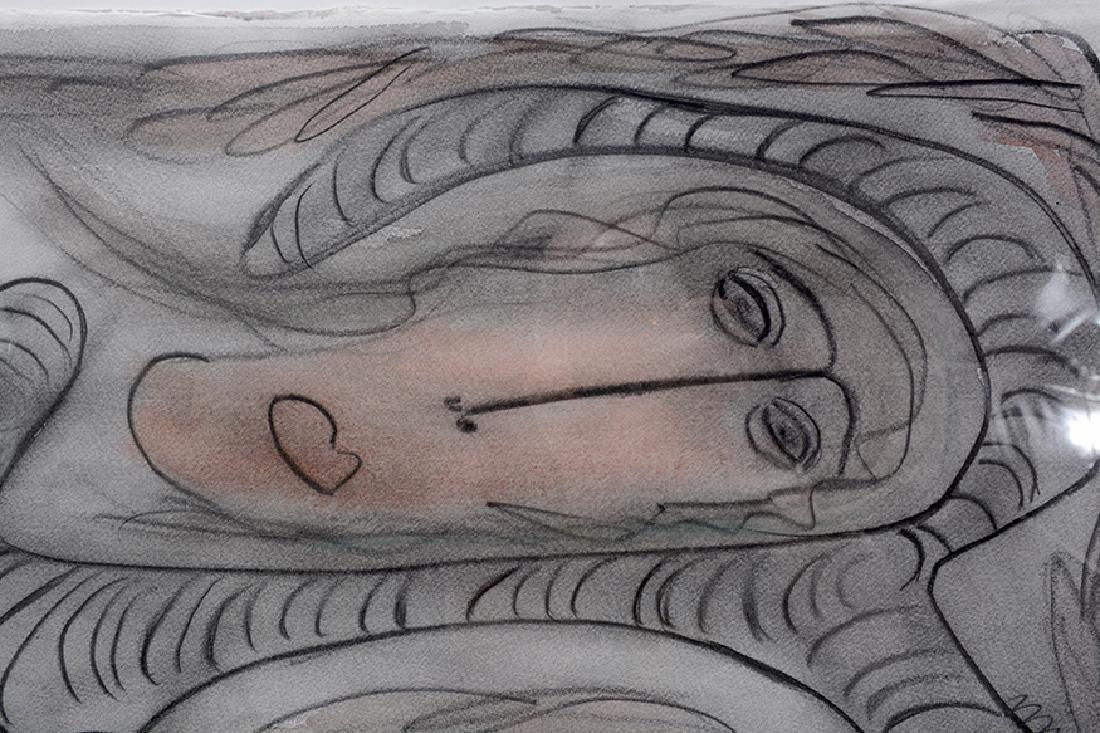 Thornton Dial. Portrait On Jungle Tiger. - 6