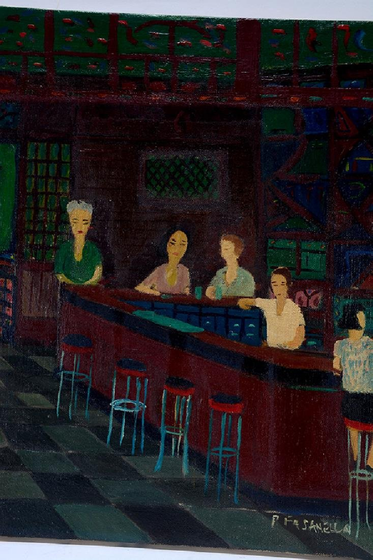 Ralph Fasanella. Corner Bar. - 5