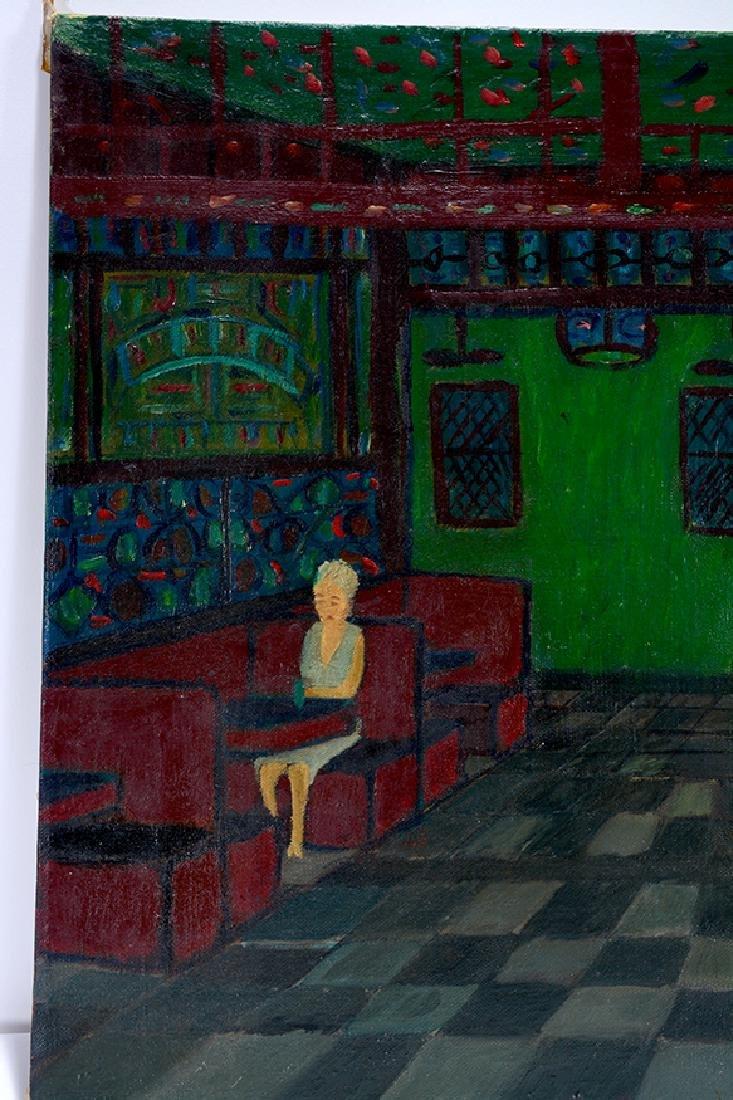 Ralph Fasanella. Corner Bar. - 6