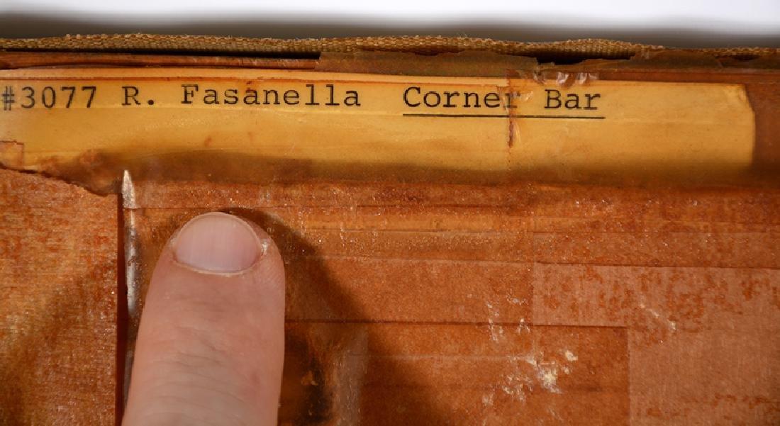 Ralph Fasanella. Corner Bar. - 9
