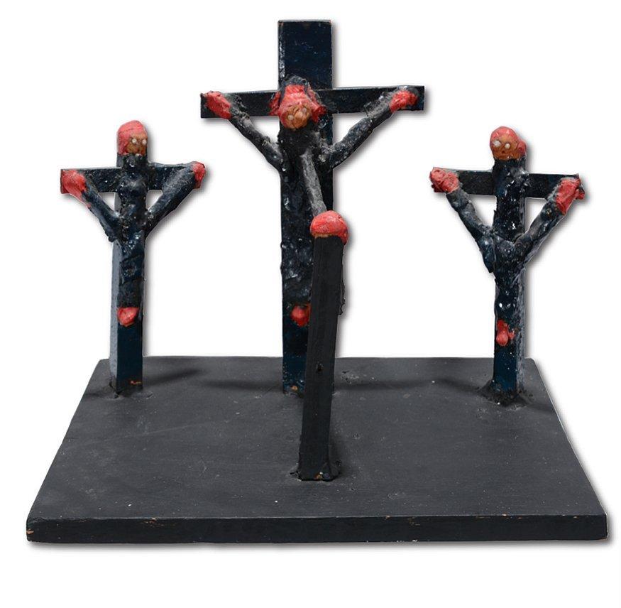 Dilmus Hall. Crucifixion.