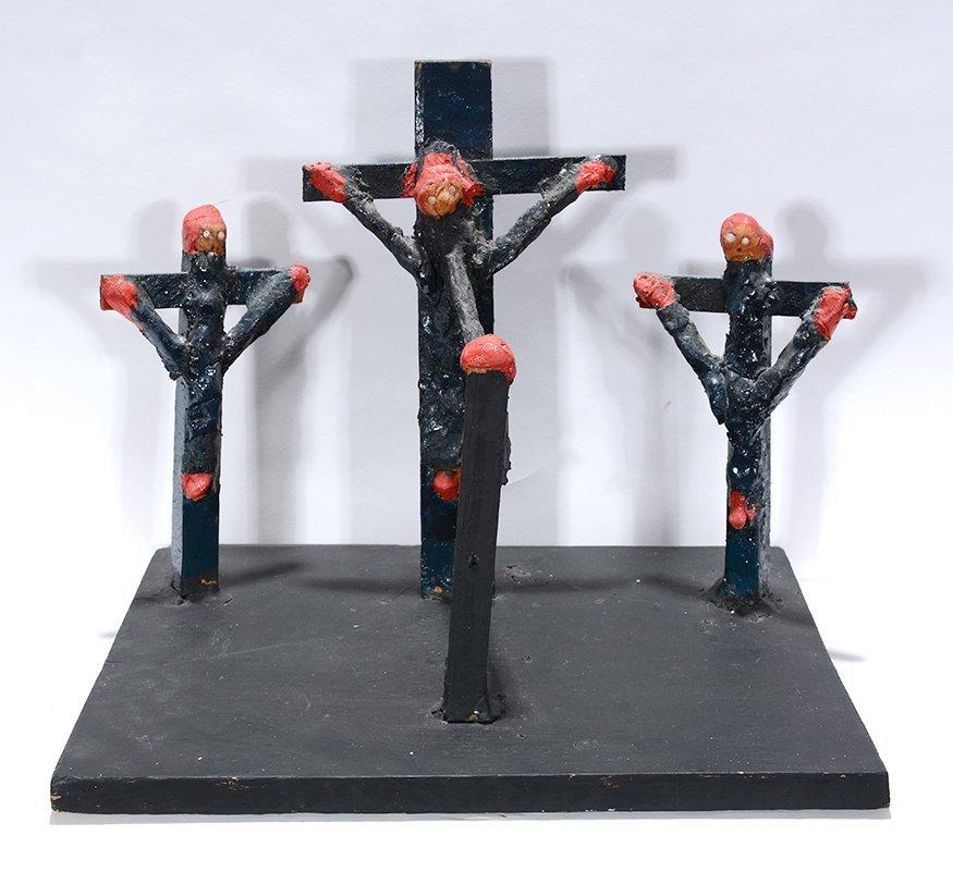Dilmus Hall. Crucifixion. - 2