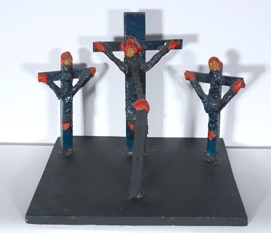 Dilmus Hall. Crucifixion. - 4