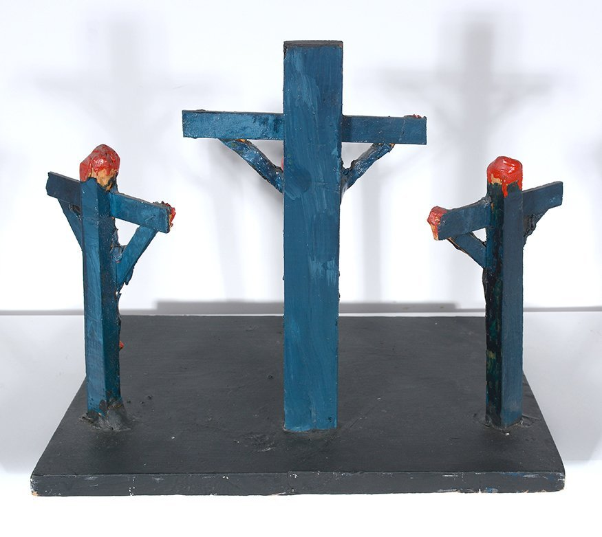 Dilmus Hall. Crucifixion. - 6