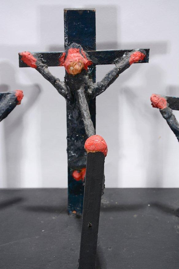 Dilmus Hall. Crucifixion. - 9