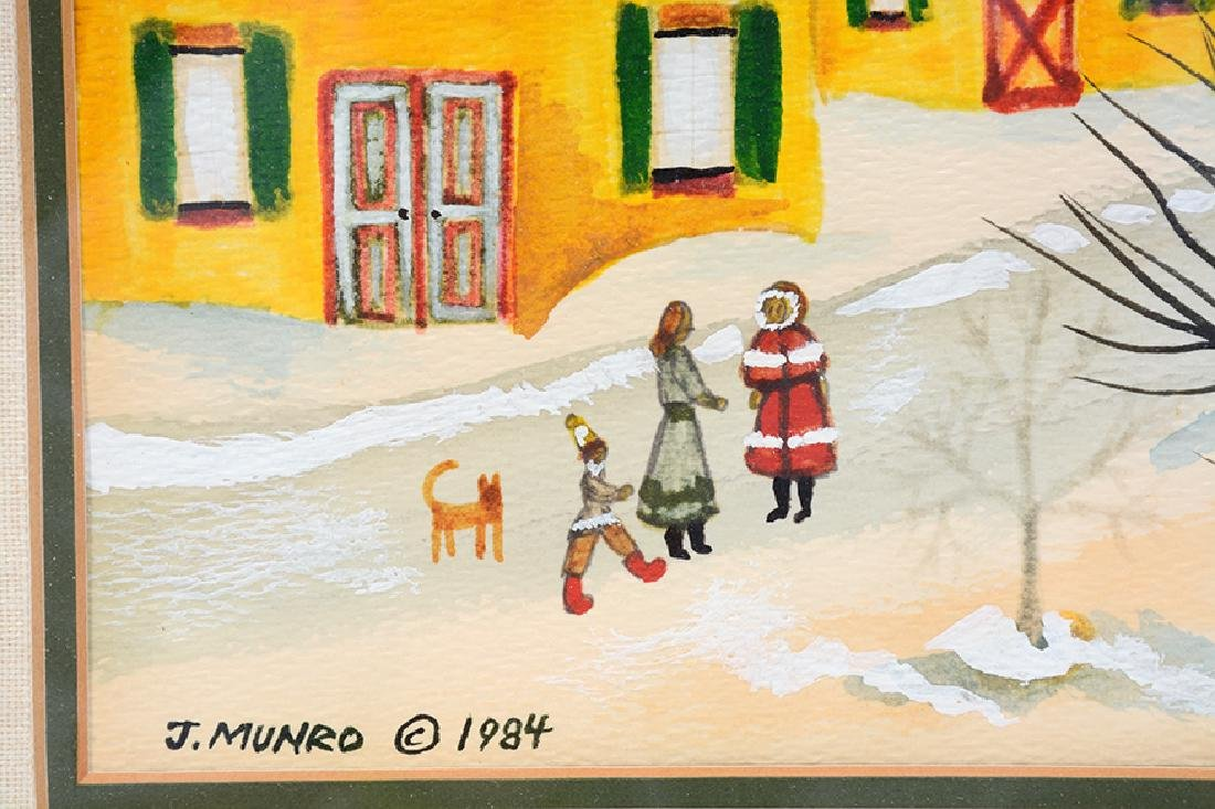 Janet Munro. A Winter Day. - 3