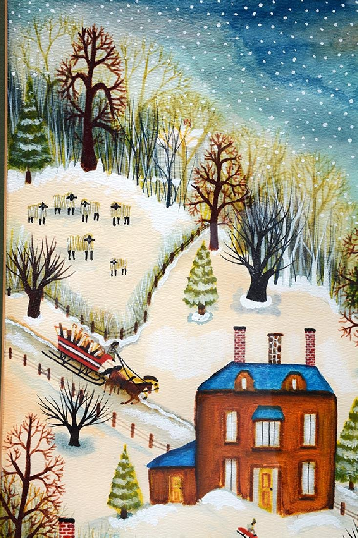Janet Munro. A Winter Day. - 5