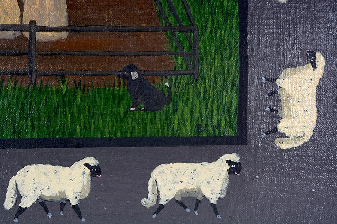Barbara Moment. Sheep Shearing Day. - 3