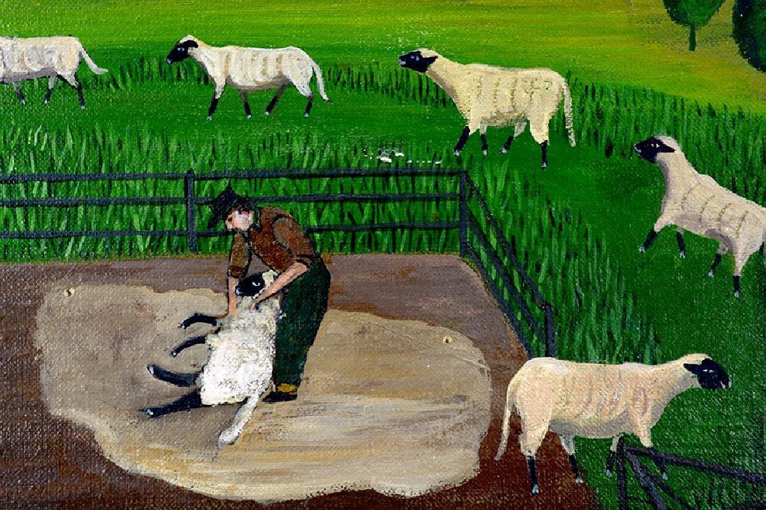 Barbara Moment. Sheep Shearing Day. - 4