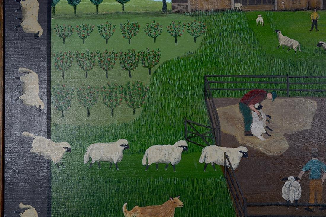 Barbara Moment. Sheep Shearing Day. - 5
