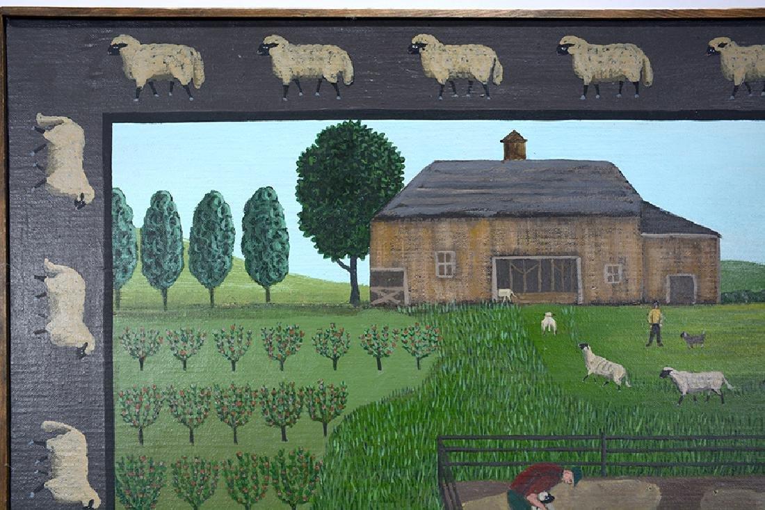 Barbara Moment. Sheep Shearing Day. - 6