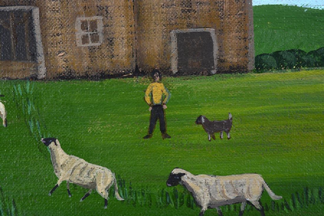 Barbara Moment. Sheep Shearing Day. - 7