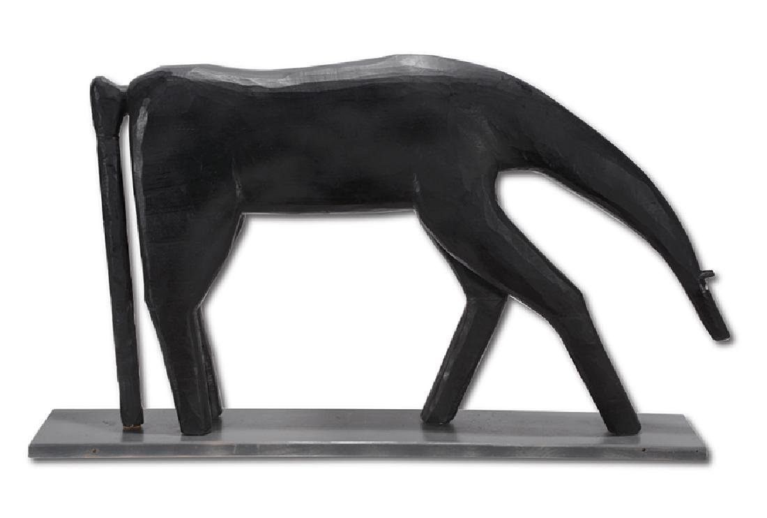 Garland Adkins. Black Horse.