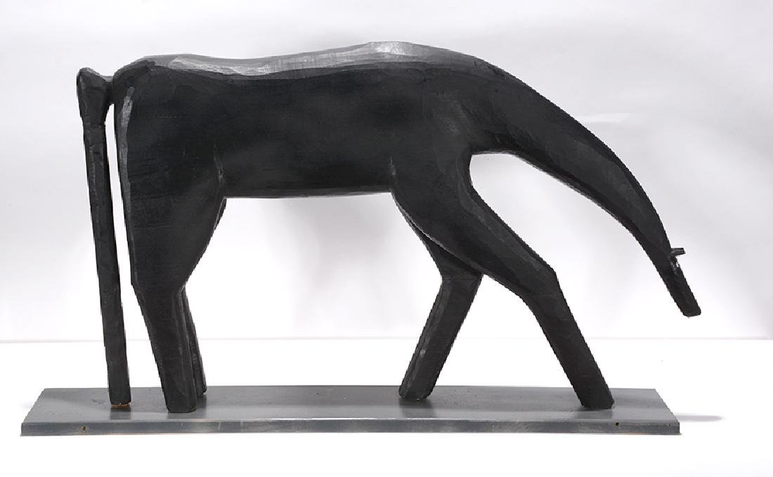 Garland Adkins. Black Horse. - 2