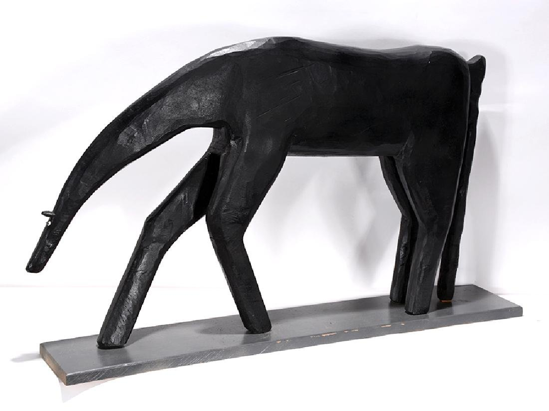Garland Adkins. Black Horse. - 4