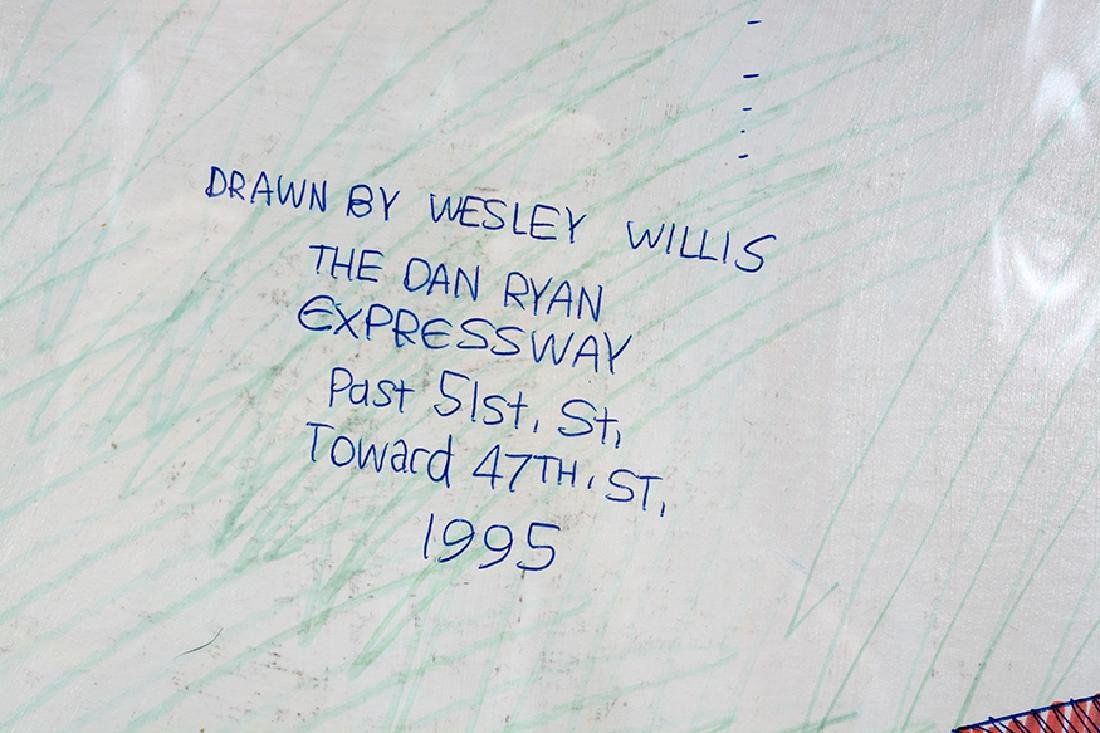 Wesley Willis. Dan Ryan Past 51st Toward 47th Street. - 3