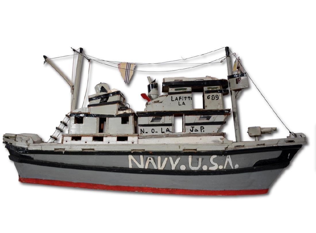 J.P. Scott. Navy U.S.A. Boat. - 9