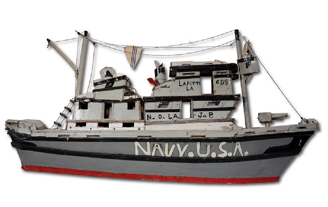 J.P. Scott. Navy U.S.A. Boat.