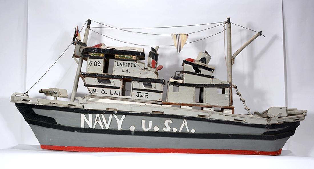 J.P. Scott. Navy U.S.A. Boat. - 2