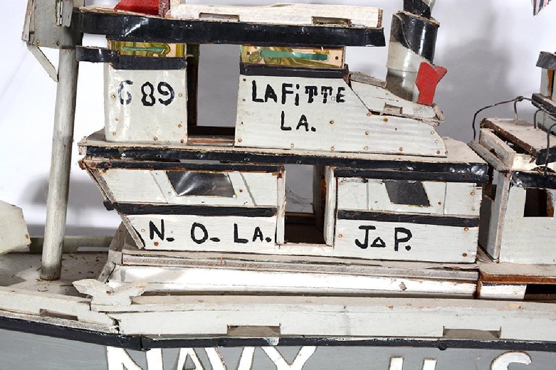 J.P. Scott. Navy U.S.A. Boat. - 3