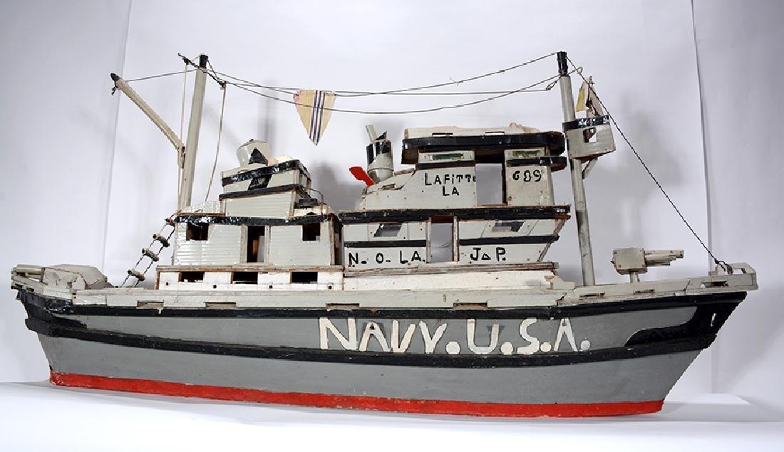 J.P. Scott. Navy U.S.A. Boat. - 5
