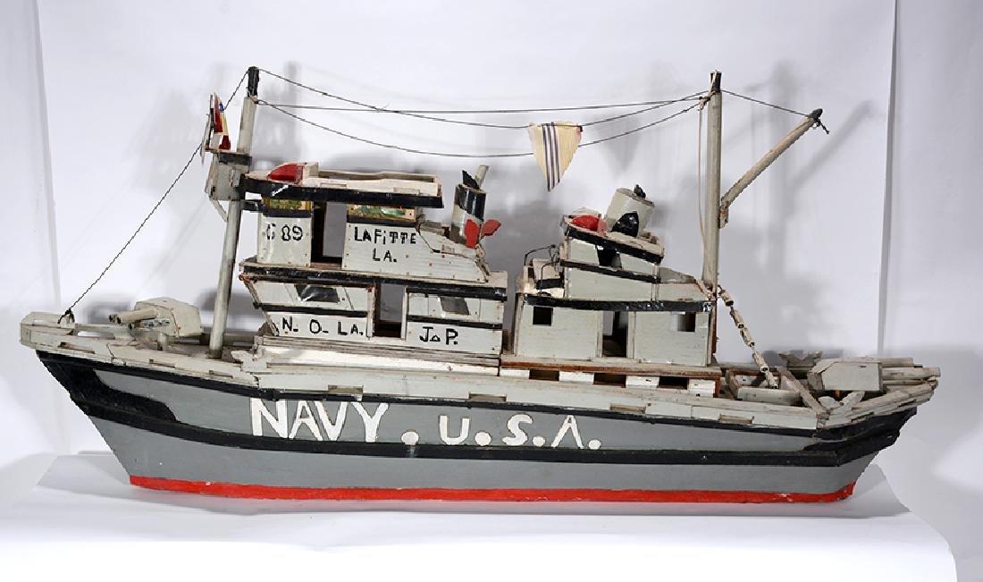 J.P. Scott. Navy U.S.A. Boat. - 6