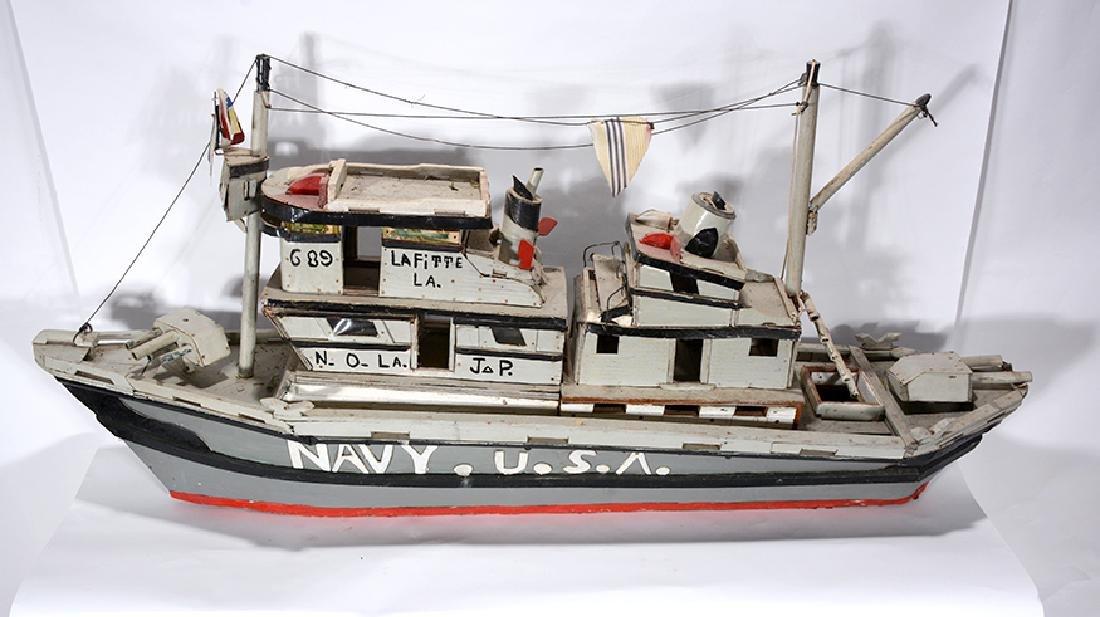 J.P. Scott. Navy U.S.A. Boat. - 7