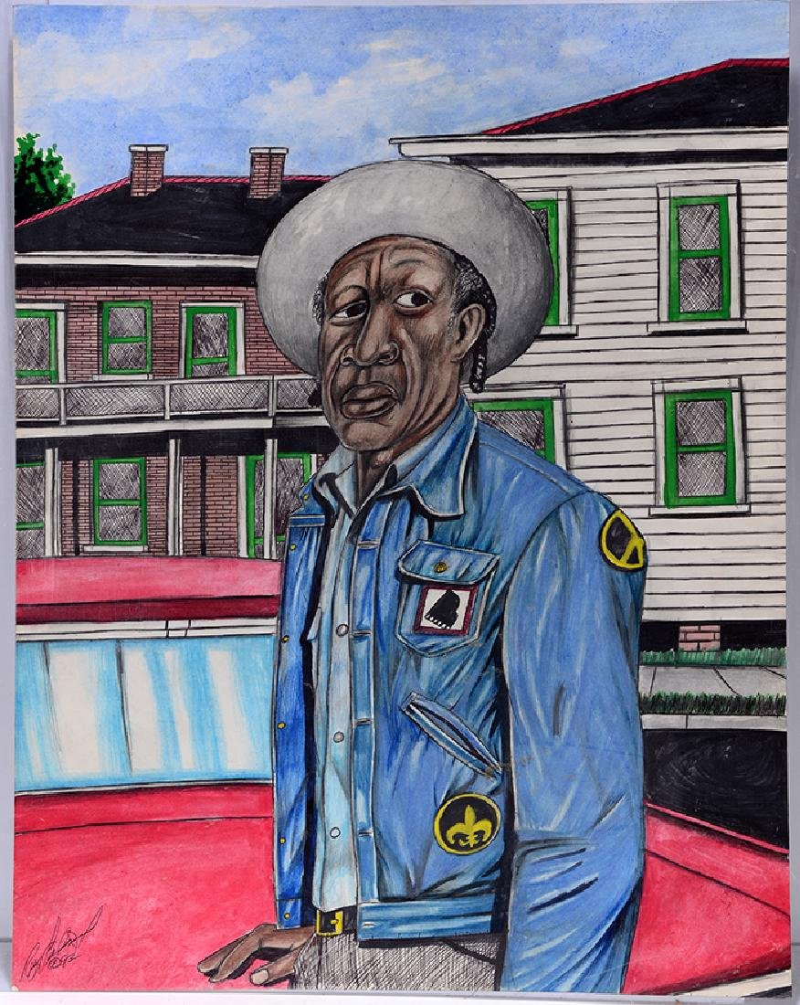 Roy Ferdinand. Portrait of Professor Longhair.