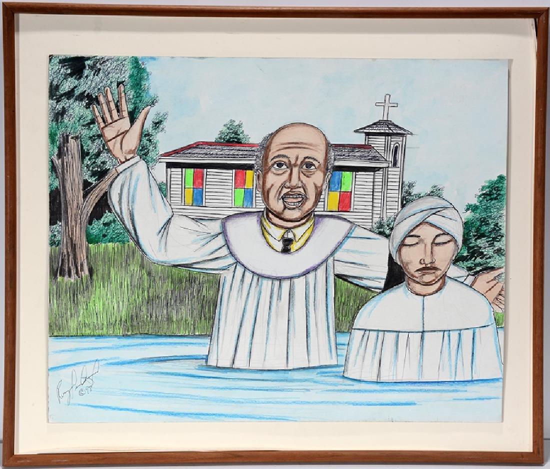 Roy Ferdinand. Baptism.