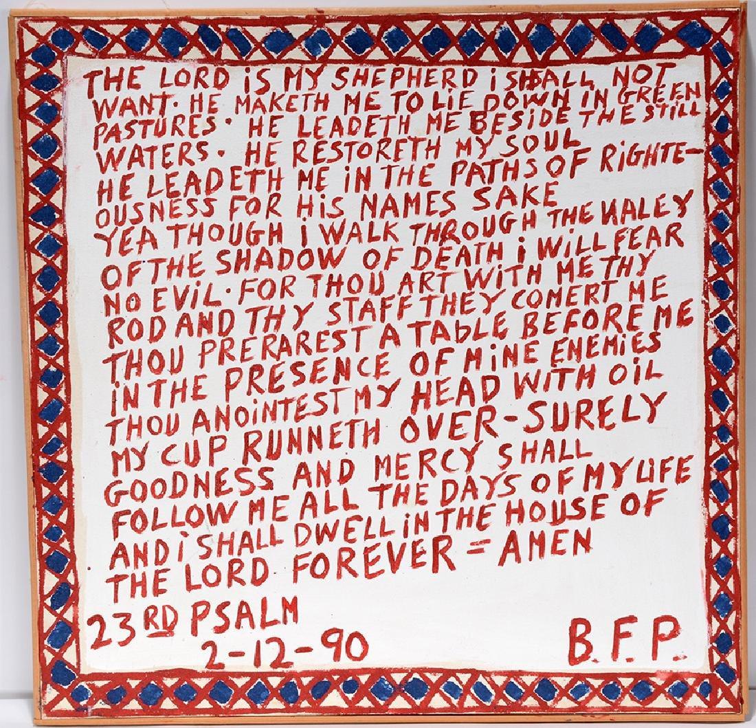 B.F. Perkins. 23rd Psalm.