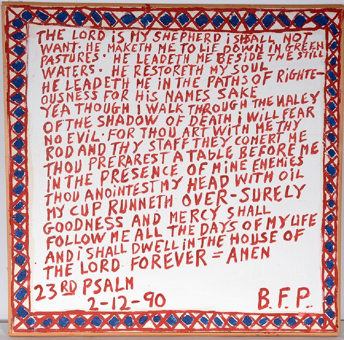 B.F. Perkins. 23rd Psalm. - 2