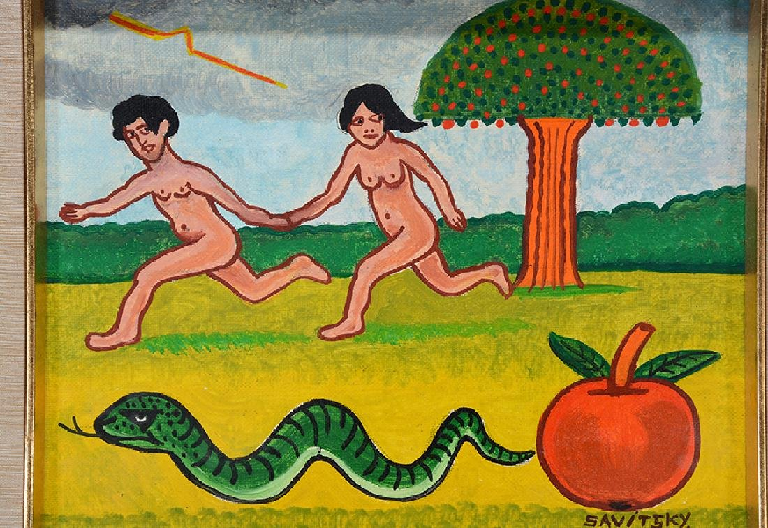 Jack Savitsky. Adam and Eve. - 2