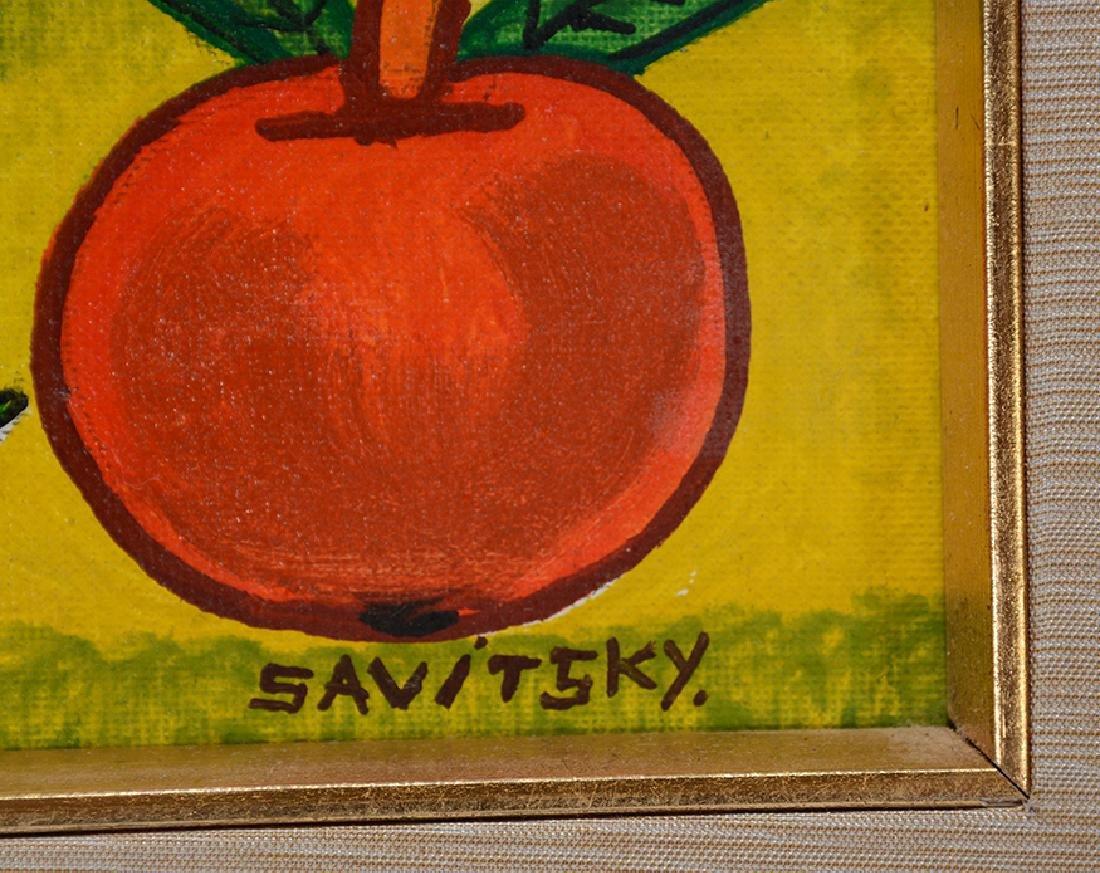 Jack Savitsky. Adam and Eve. - 3