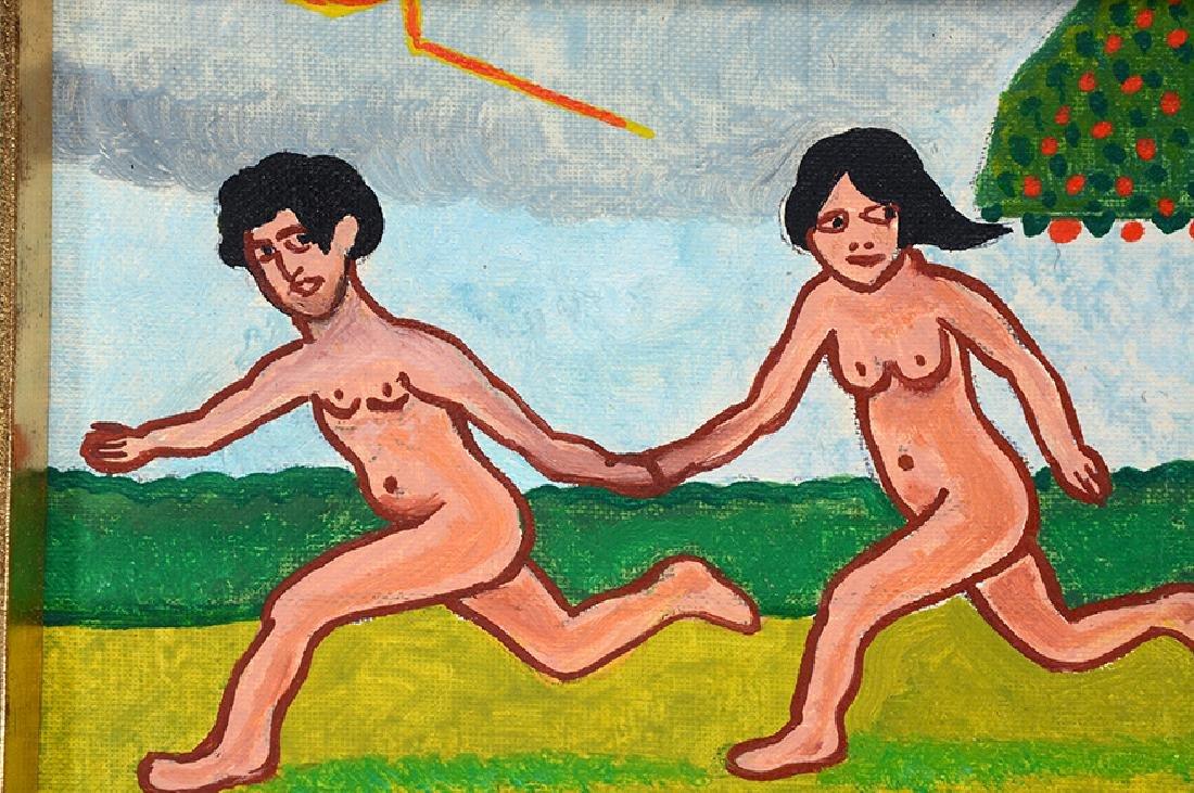 Jack Savitsky. Adam and Eve. - 4