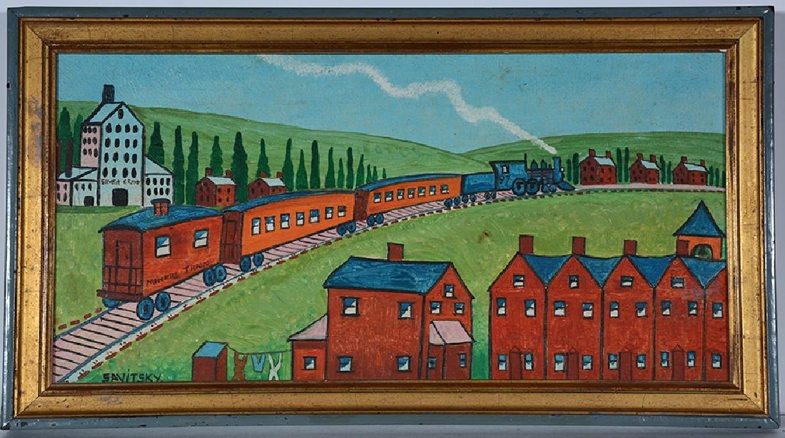 Jack Savitsky. Miners' Train.